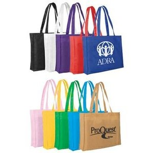 "Non-Woven Tote Bag w/ 22"" Strap (Spot Color)"
