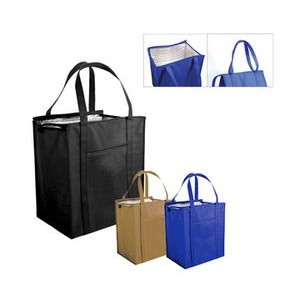Non Woven Large Insulated Tote Bag (Blank)