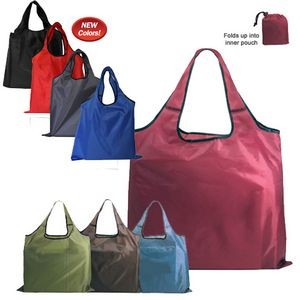 RPET Fold Away Carryall Tote Bag (Blank)